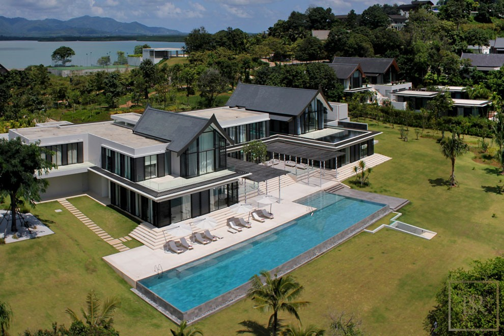For super rich ultra luxury real estate properties homes, most expensive houses, buy unique penthouse apartment and ultimate villa in Phuket Thailand for sale