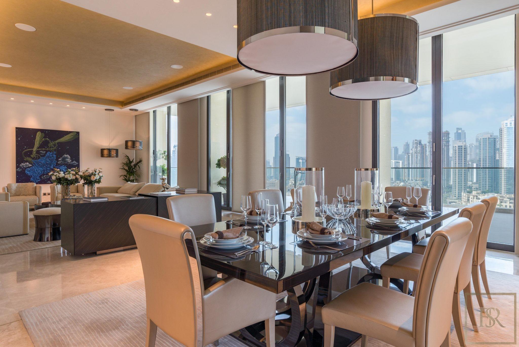 Penthouse Duplex The 118 Downtown, Dubai, UAE for sale For Super Rich
