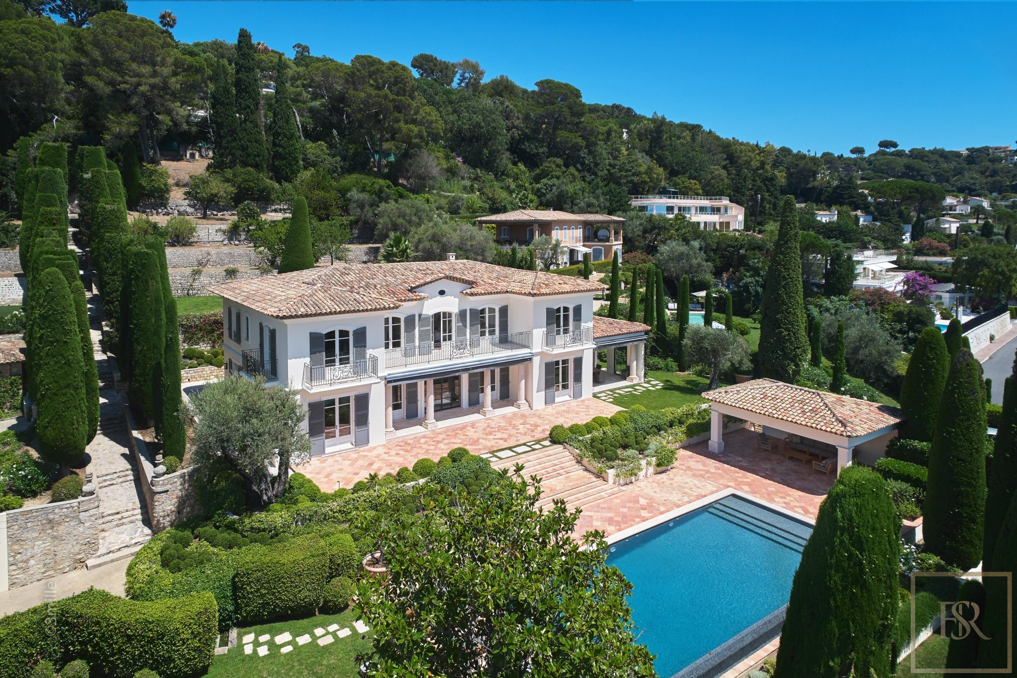 Villa Panoramic Sea Views - Cannes, French Riviera for sale For Super Rich