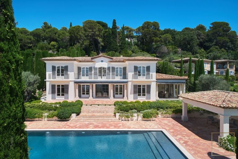For super rich villa Cannes France for sale French riviera