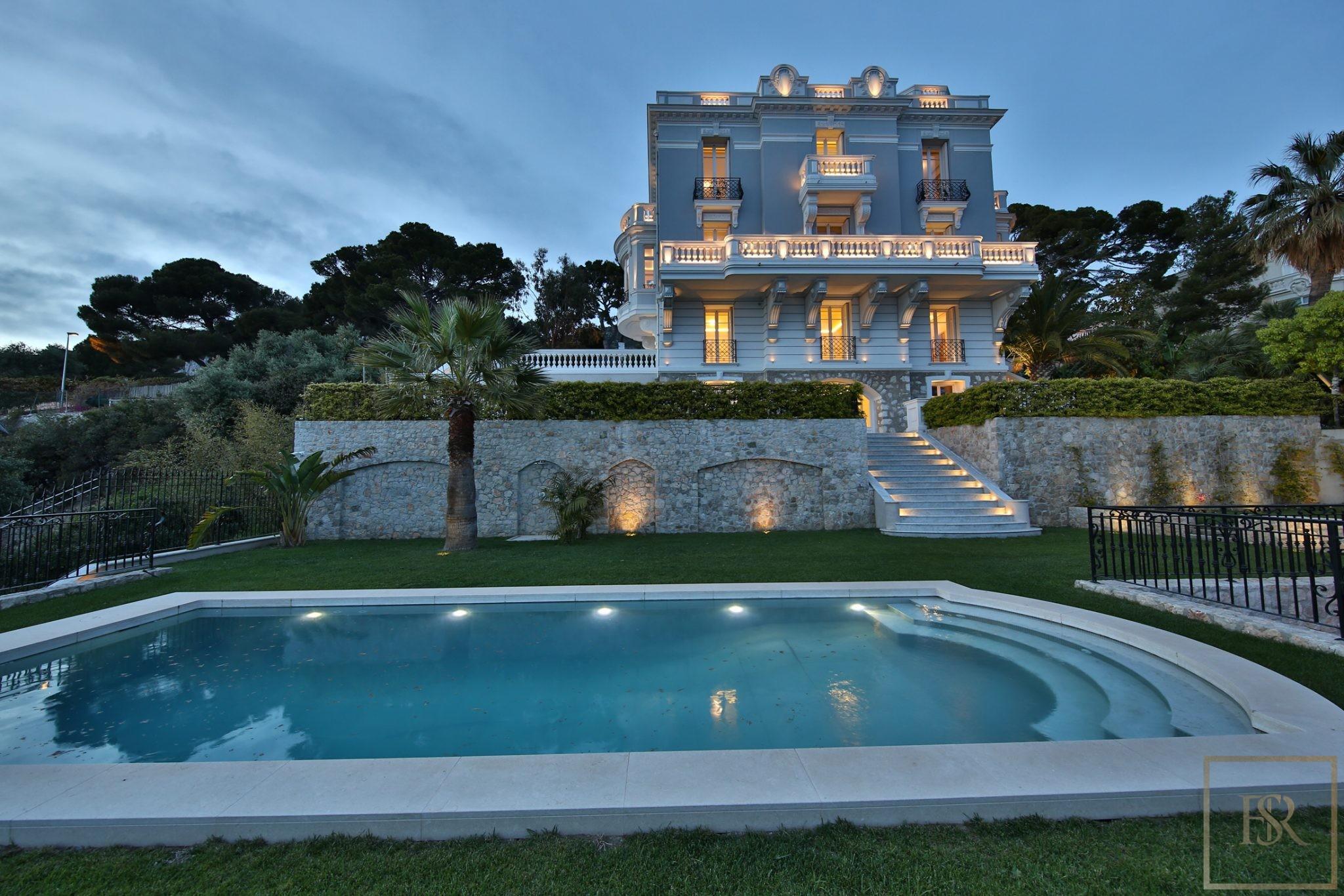 Villa Belle Epoque - Cap d'Ail, French Riviera for sale For Super Rich