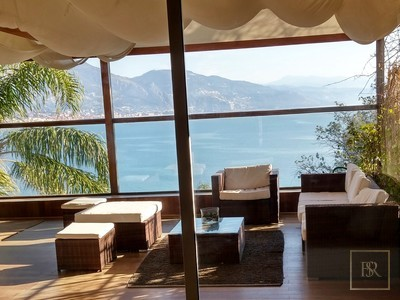 Villa Panoramic Sea View - Cap-Martin, French Riviera available for sale For Super Rich