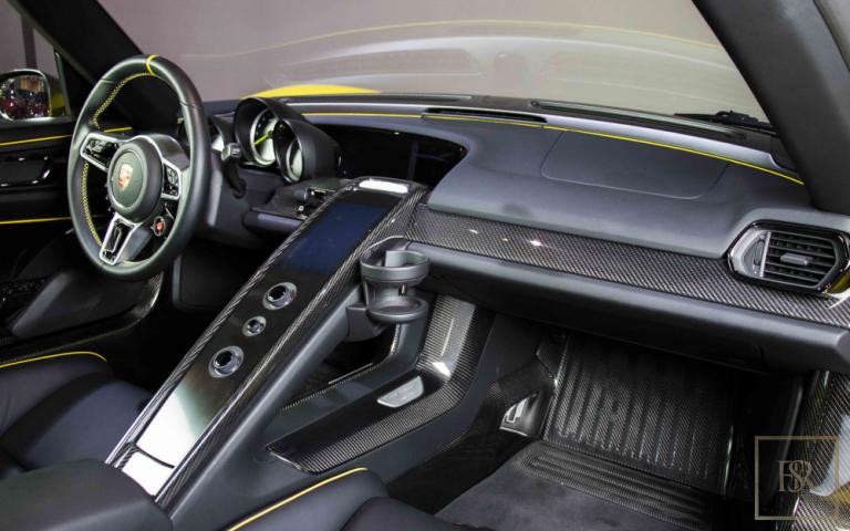 2015 Porsche 918 SPYDER Coupe for sale For Super Rich