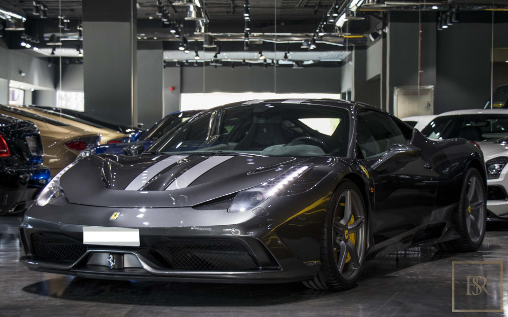 2014 Ferrari 458 Speciale for sale For Super Rich