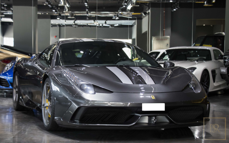 2014 Ferrari 458 Speciale grey for sale For Super Rich