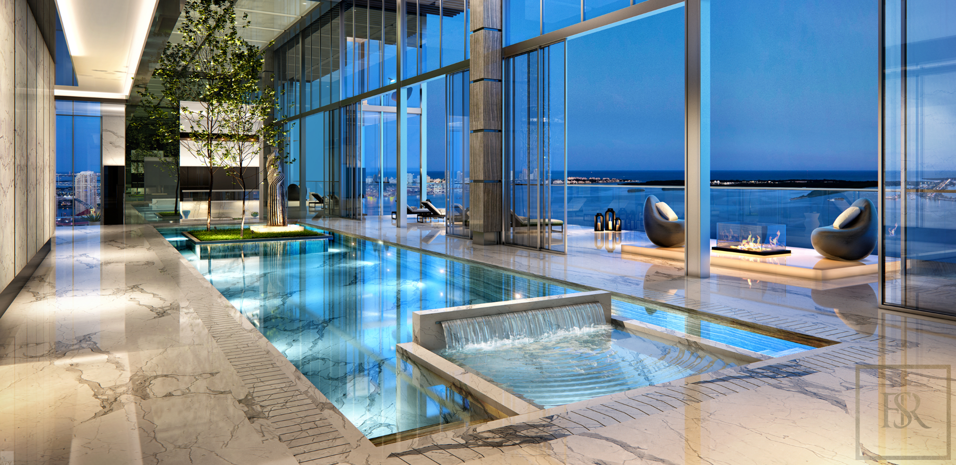 2019 Penthouse THE CARLOS OTT - Miami, USA for sale For Super Rich