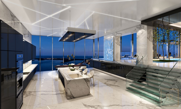 2019 Penthouse THE CARLOS OTT - Miami, USA New for sale For Super Rich