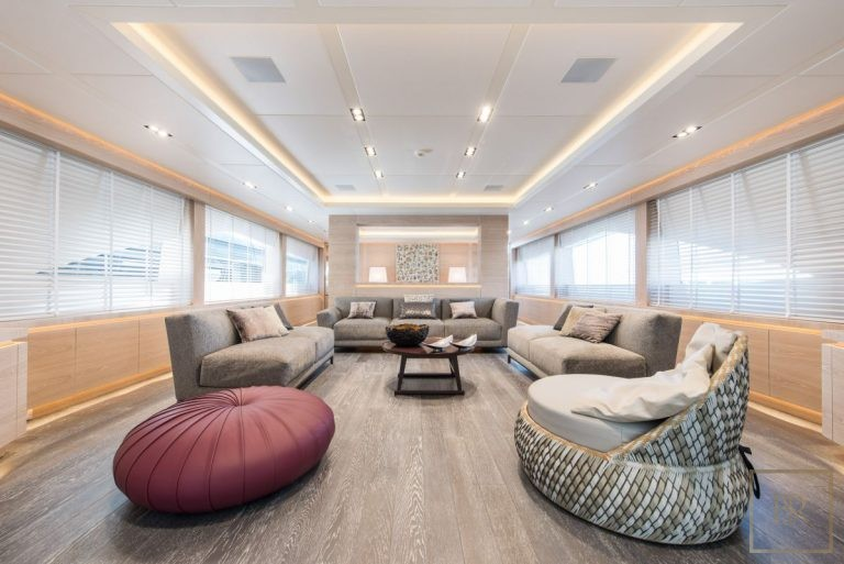 Luxury motor yacht superyacht for charter for super rich