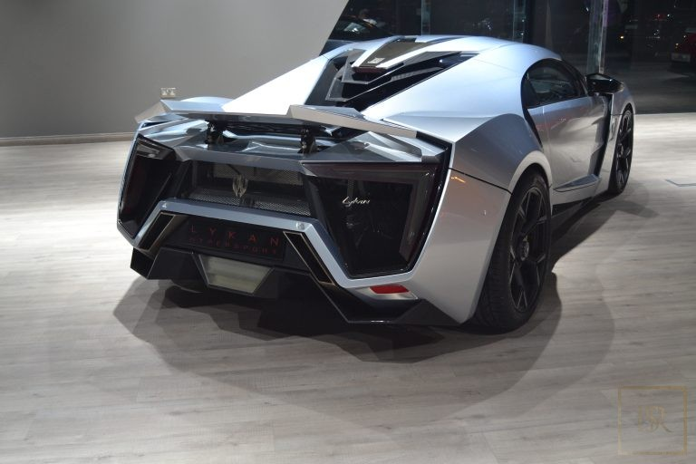 used W Motors LYKAN for sale hypercar