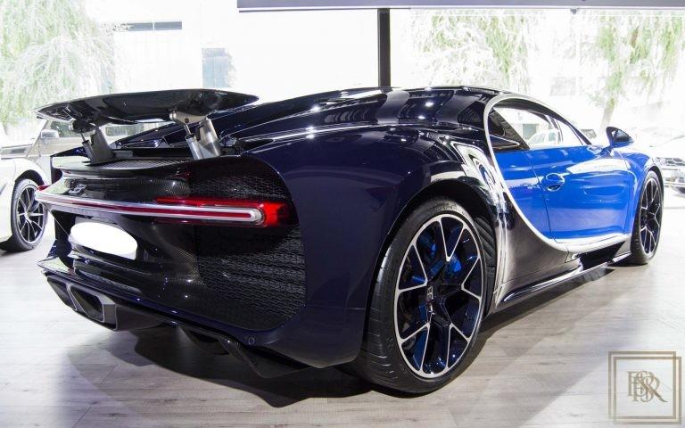 2016 Bugatti CHIRON Blue for sale For Super Rich