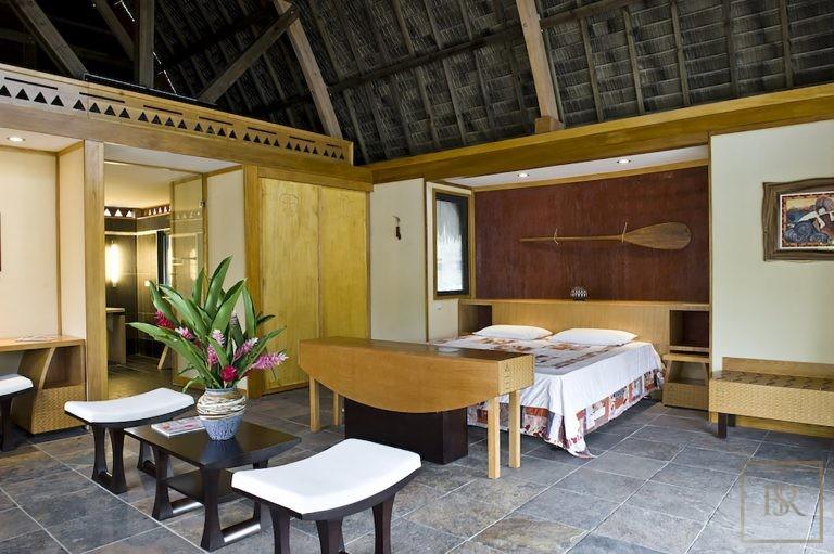 Hotel 32 Bungalows - Maitai Lapita, Fare, French Polynesia property for sale For Super Rich