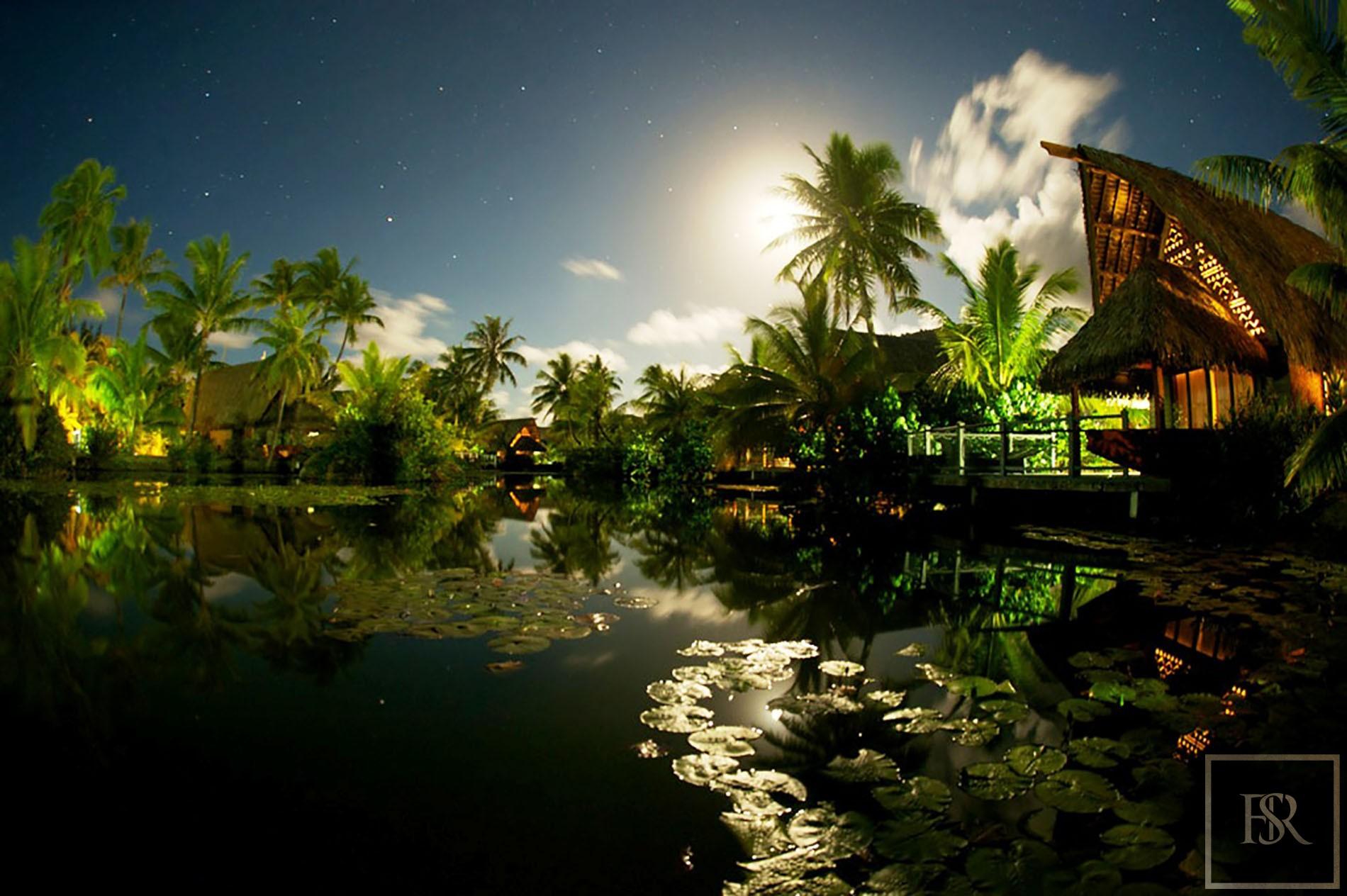 Hotel 32 Bungalows - Maitai Lapita, Fare, French Polynesia for sale For Super Rich