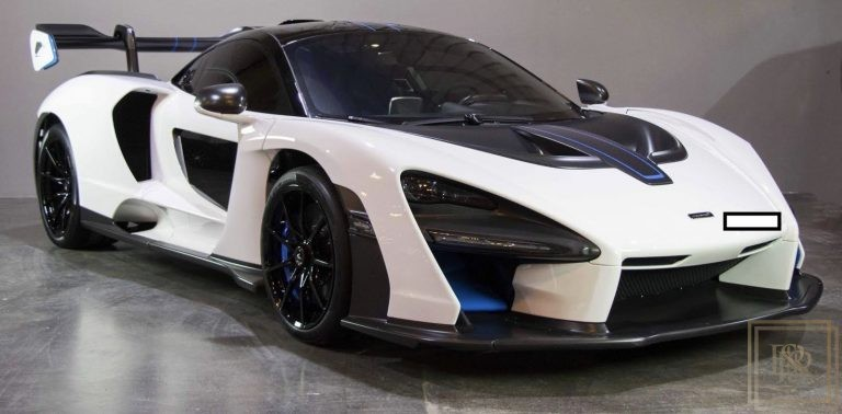 2019 McLaren Senna Withe for sale For Super Rich