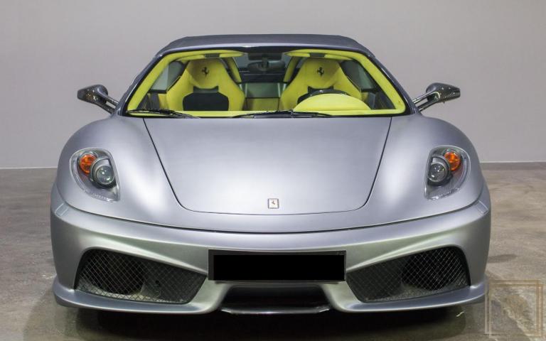 2009 Ferrari F430 Scuderia Spider 16M Yellow Alcantara for sale For Super Rich