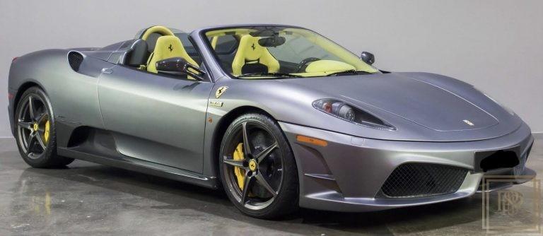 2009 Ferrari F430 Scuderia Spider 16M Grey for sale For Super Rich