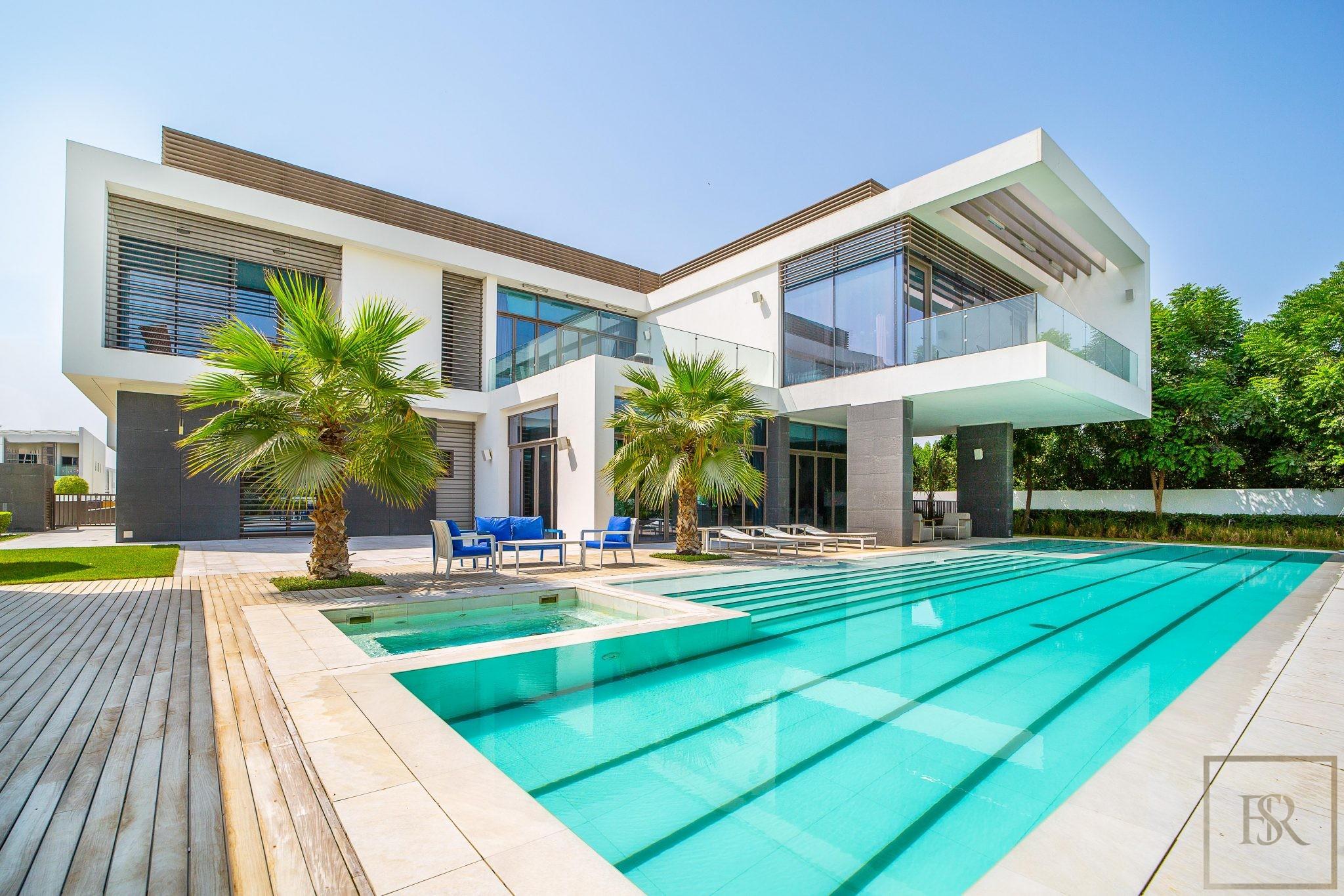 Villa Contemporary 8BR - Mansion District One, Dubai, UAE for sale For Super Rich