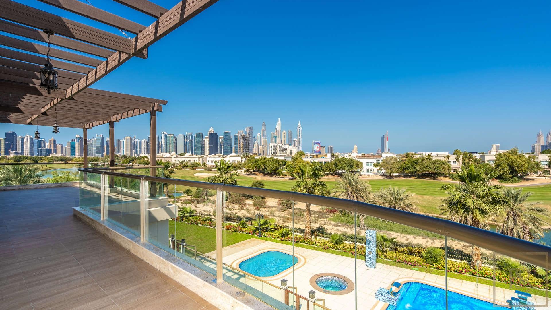 Villa L Sector - Emirates Hills, Dubai, UAE for sale For Super Rich
