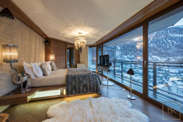 Ultra luxury house Zermatt Switzerland for rent holiday