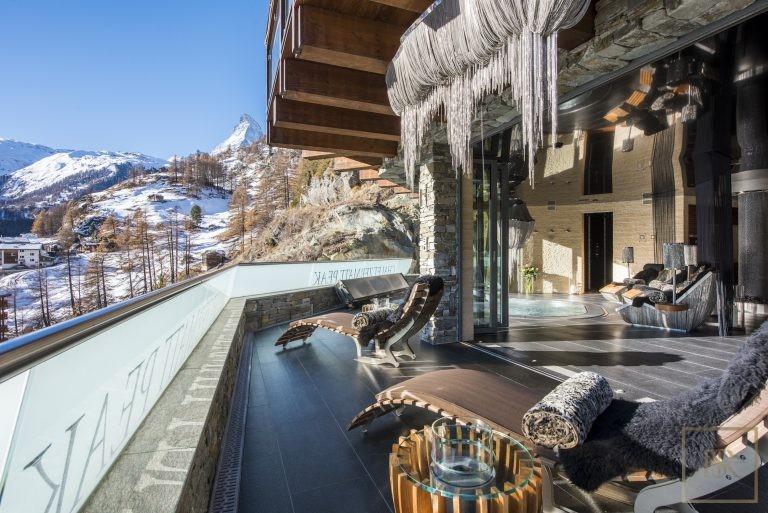 Most expensive properties Zermatt Switzerland for rent holiday
