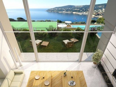 Villa Exceptional View Saint-Jean-Cap-Ferrat, French Riviera search for sale For Super Rich