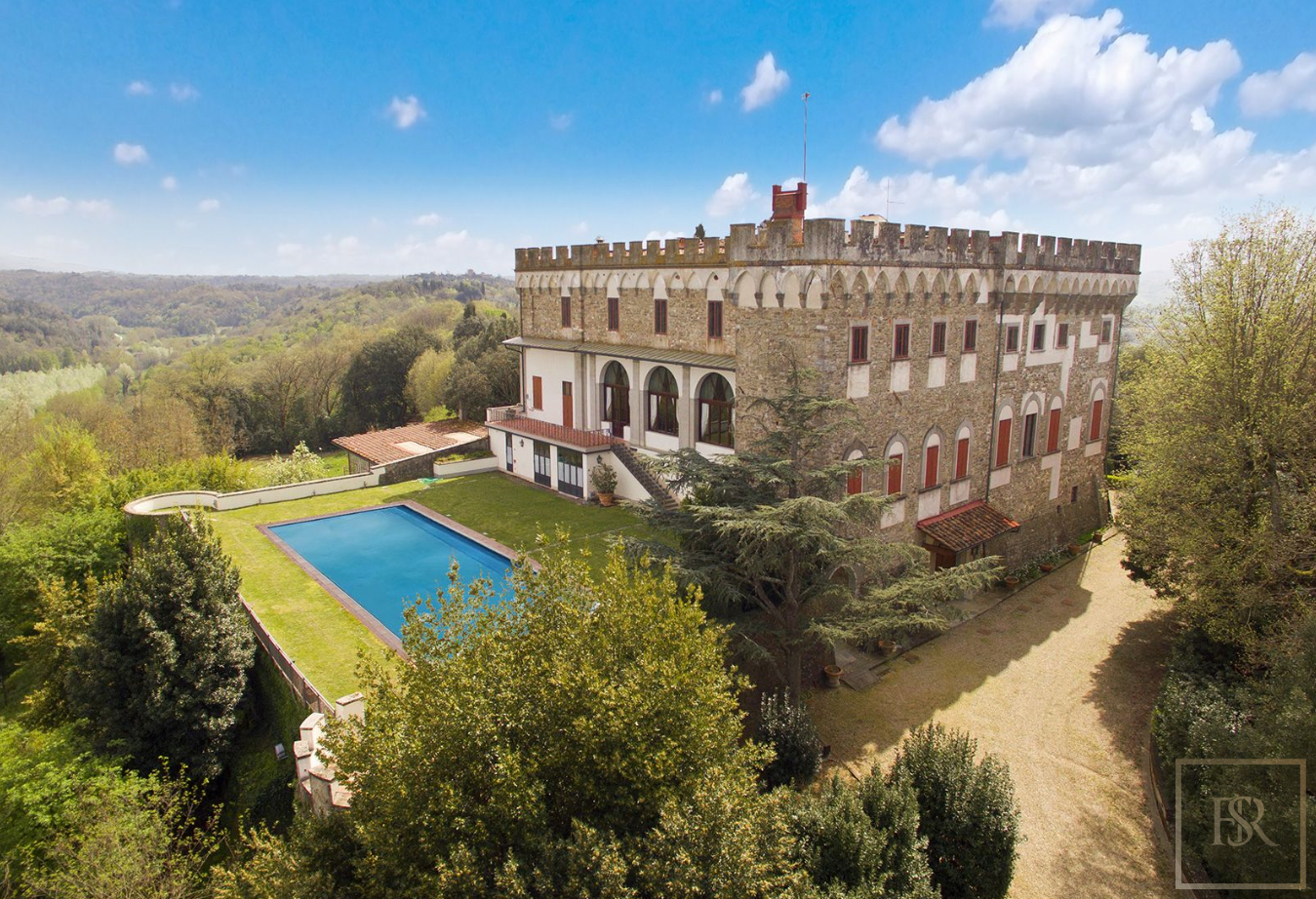 Luxury 1427 Castle in Tuscany Florence for sale | For Super Rich