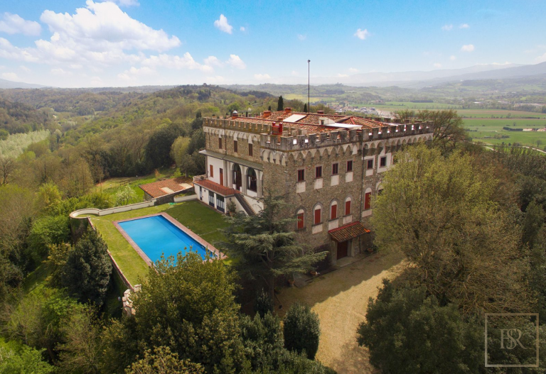 1427 Castle Tuscany - Florence, Italy price for sale For Super Rich