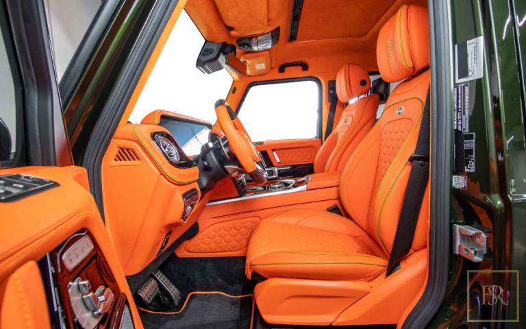 2020 Mercedes Brabus interior for sale For Super Rich