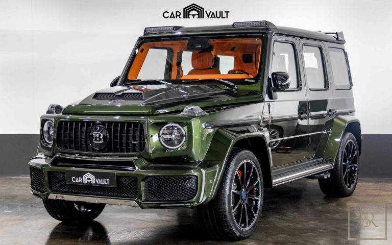 2020 Mercedes Brabus Green for sale For Super Rich