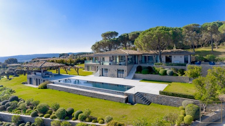 Villa Breathtaking Sea View 9 BR- Saint-Tropez, French Riviera available rental For Super Rich