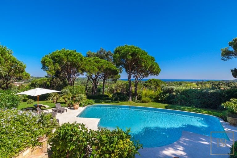 Villa Vineyards & Sea Views - Ramatuelle, French Riviera real estate for sale For Super Rich