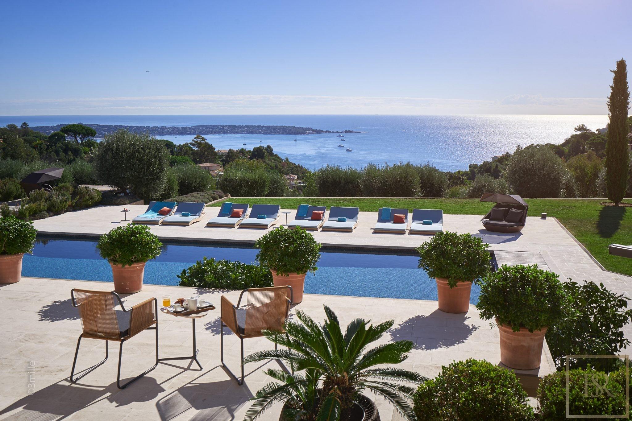Villa Sea Views 8 BR - Vallauris, French Riviera rental For Super Rich