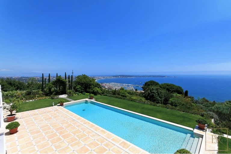 Villa Colonial New 860 m2 9 BR - Cannes, French Riviera Colonial  rental For Super Rich