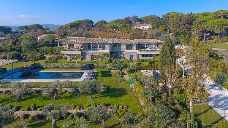 Villa Modern 9 BR - Saint-Tropez, French Riviera Modern rental For Super Rich