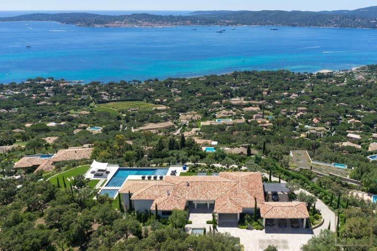 Villa Best View Gulf St-Tropez 6 BR - Grimaud, French Riviera vacation rental For Super Rich