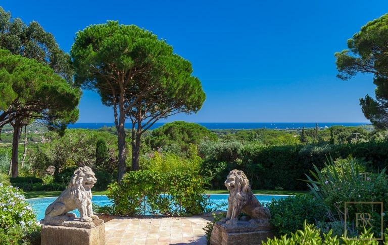 Villa Vineyards & Sea Views - Ramatuelle, French Riviera property for sale For Super Rich