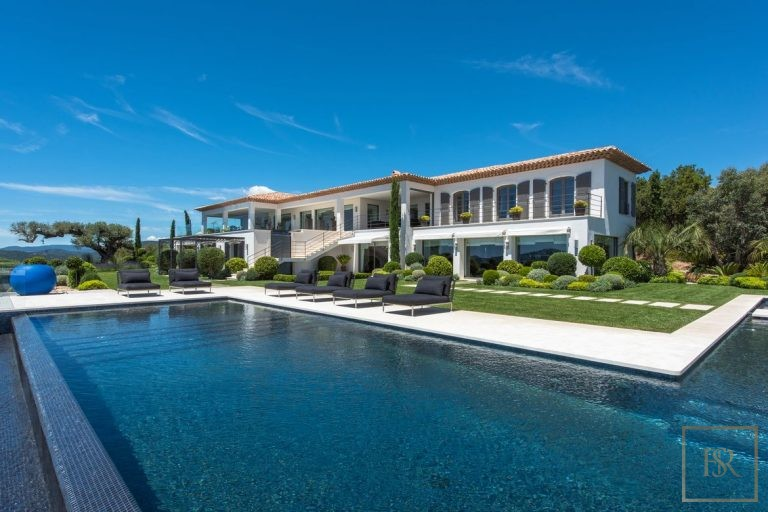 Villa Best View Gulf St-Tropez 6 BR - Grimaud, French Riviera search rental For Super Rich