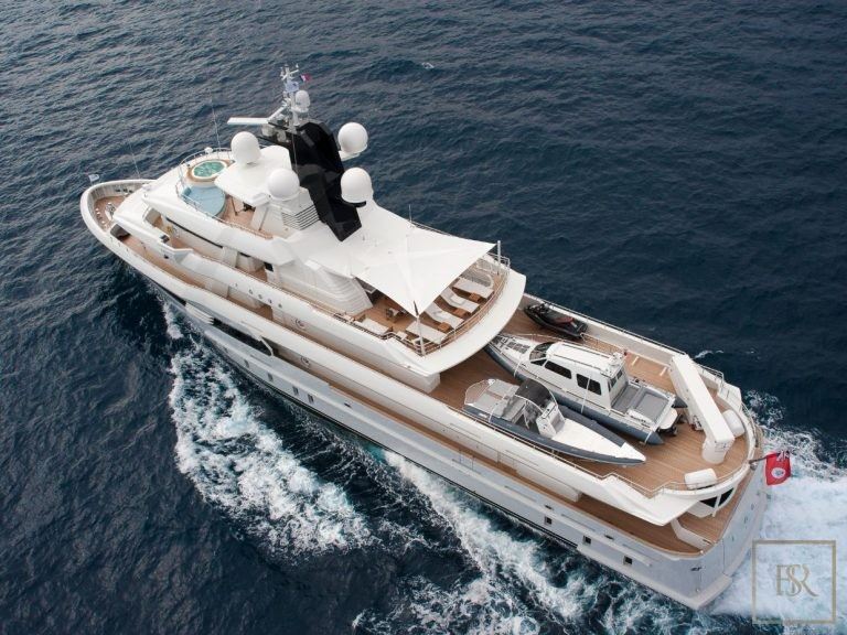 2013 Cosmo Explorer 49M 49 Meters 15.6 for sale For Super Rich