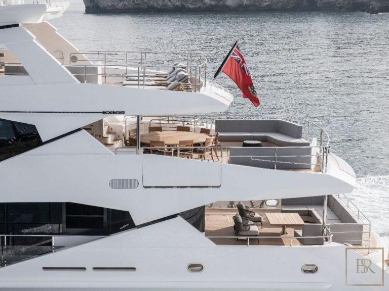 Sunseeker BERCO VOYAGER 40 Meters celebrity charter rental For Super Rich