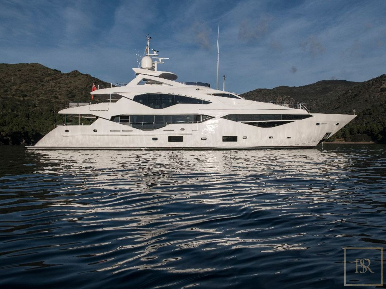 Sunseeker BERCO VOYAGER 40 Meters charter rental For Super Rich