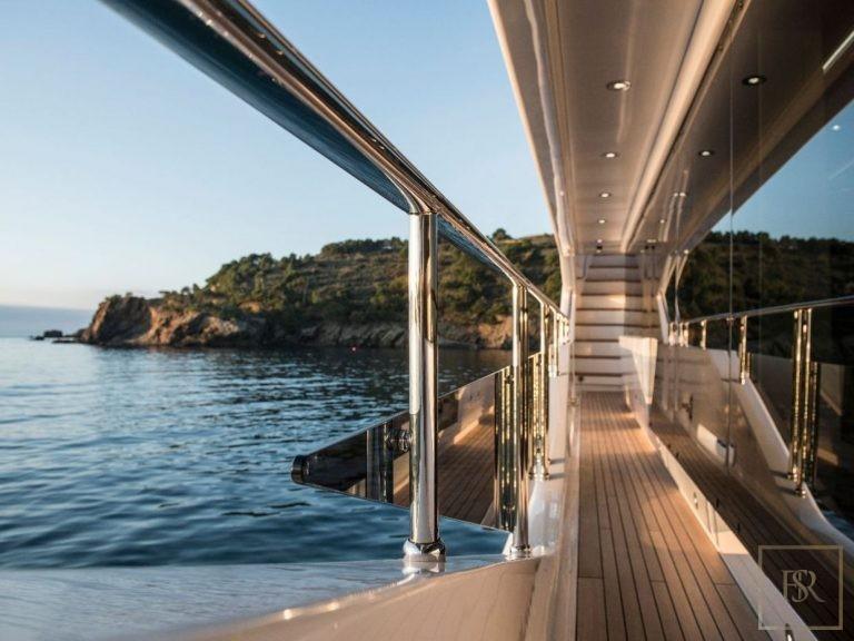 Sunseeker BERCO VOYAGER 40 Meters VIP charter rental For Super Rich