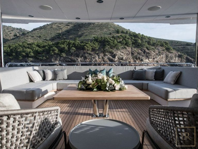 Sunseeker BERCO VOYAGER 40 Meters yacht charter rental For Super Rich