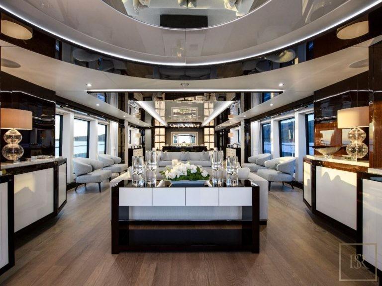 Sunseeker BERCO VOYAGER 40 Meters motor yacht charter rental For Super Rich
