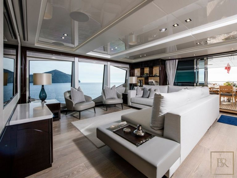 Sunseeker BERCO VOYAGER 40 Meters holiday charter rental For Super Rich
