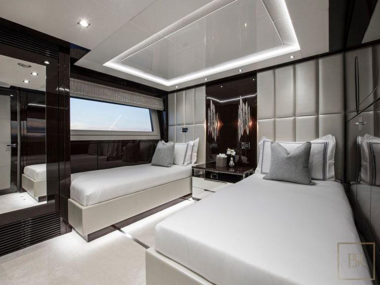 Sunseeker BERCO VOYAGER 40 Meters prix charter rental For Super Rich