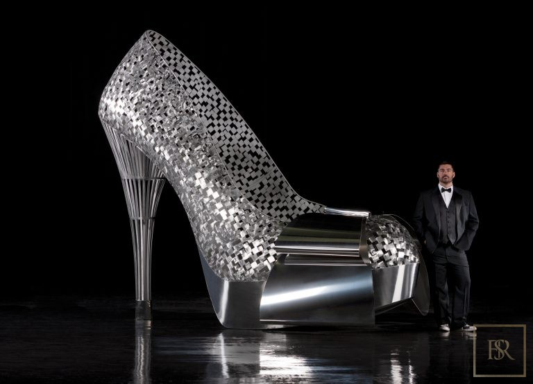 Sculpture, Mathieu Isabelle Gabrielle High Heel