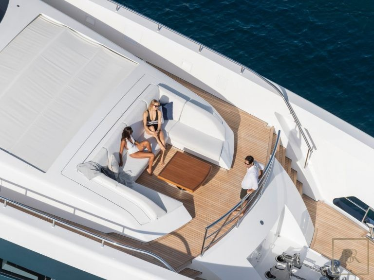 Most luxurious superyachts for charter for super rich