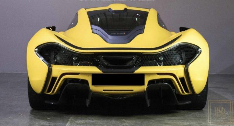 2014 McLaren P1 3.8 litre for sale For Super Rich