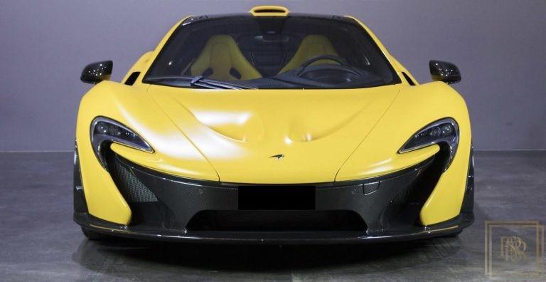 2014 McLaren P1 Black +Yellow for sale For Super Rich