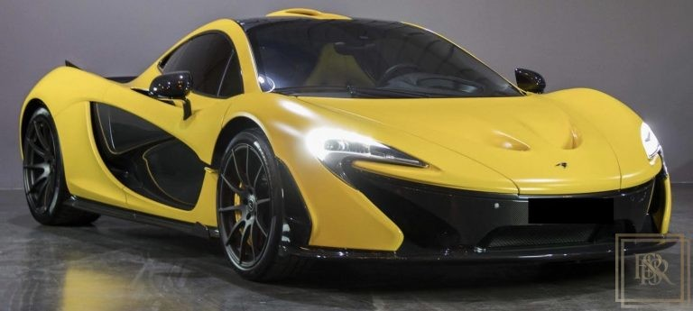 2014 McLaren P1 Yellow for sale For Super Rich