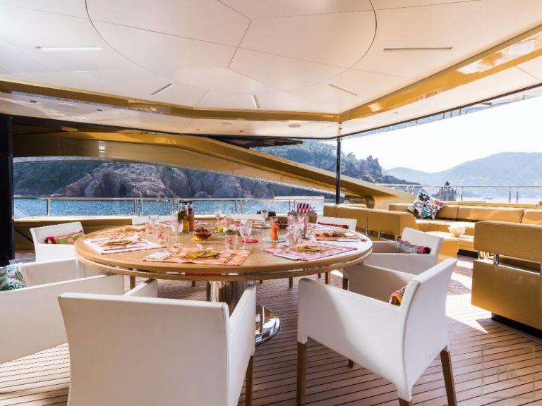 Palmer Johnson KHALILAH 49 Meters travel charter rental For Super Rich